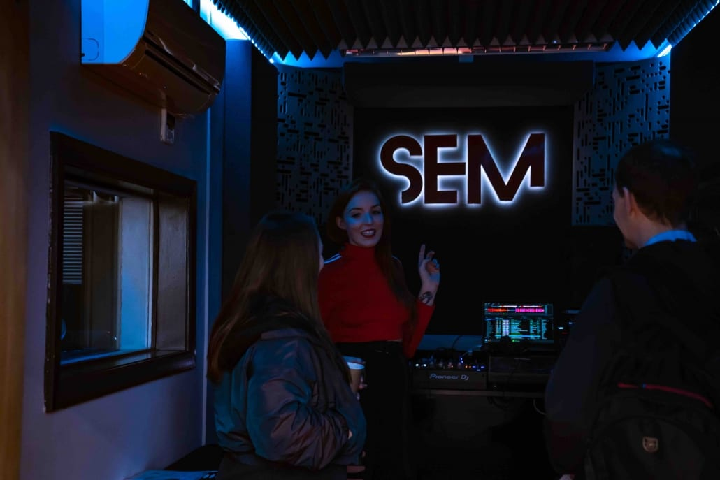SEM Open Day January 25th 2020 DJ Booth