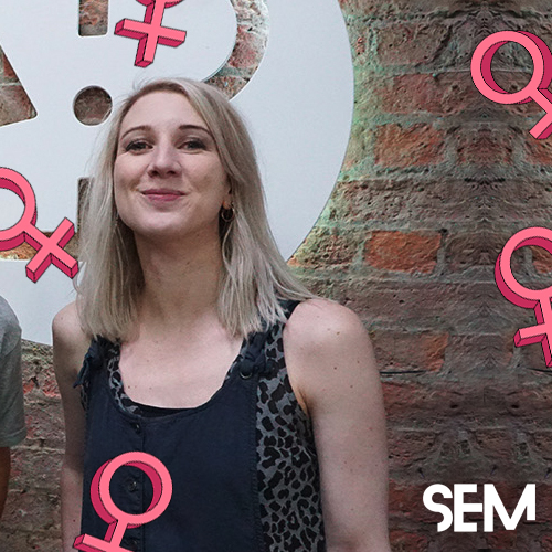 SEM International Women's Day Sian Roberts