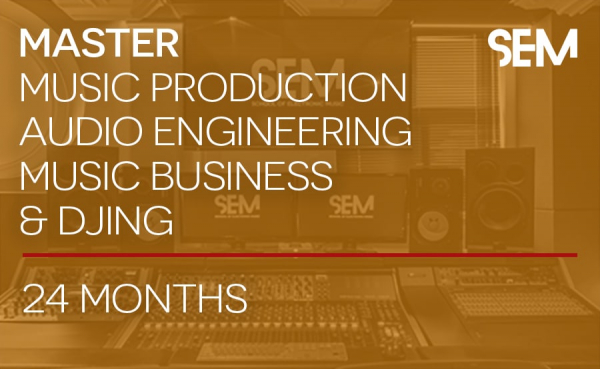 School of Electronic Music Master Music Production Audio Engineering Music Business and DJing Course