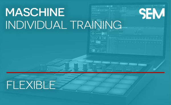 School of Electronic Music Native Instruments Maschine Training
