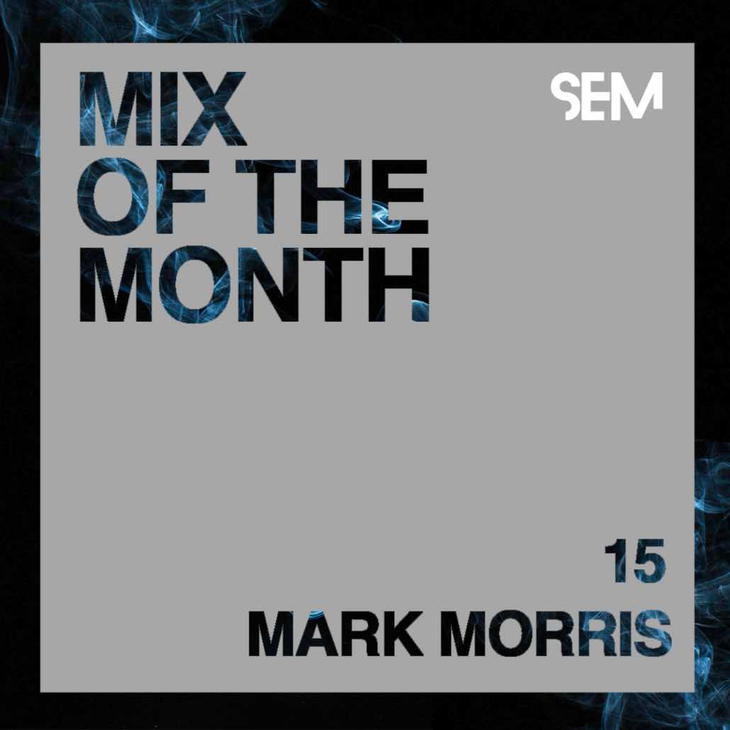 techno producer, Mark Morris.
